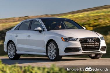Insurance quote for Audi A3 in Plano