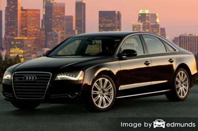 Insurance quote for Audi A8 in Plano