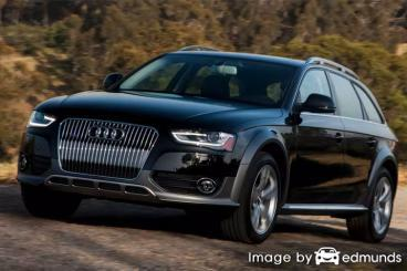 Insurance rates Audi Allroad in Plano