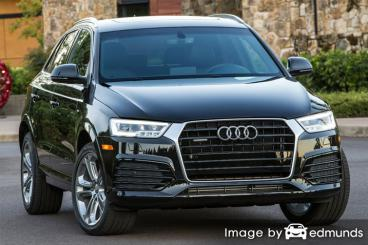 Insurance quote for Audi Q3 in Plano