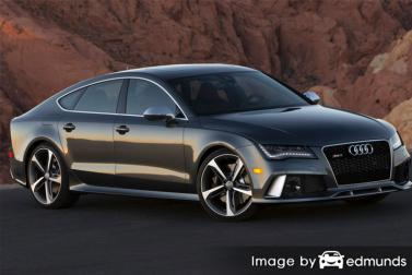 Insurance quote for Audi RS7 in Plano
