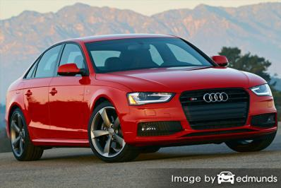 Insurance quote for Audi S4 in Plano
