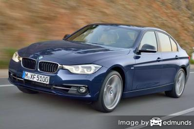 Insurance rates BMW 328i in Plano