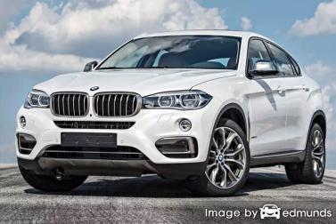 Insurance rates BMW X6 in Plano
