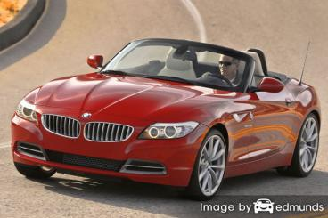Insurance quote for BMW Z4 in Plano