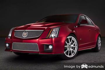 Insurance rates Cadillac CTS-V in Plano