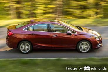 Insurance rates Chevy Cruze in Plano