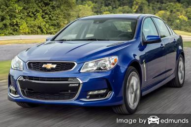 Insurance quote for Chevy SS in Plano