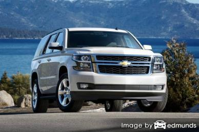 Insurance quote for Chevy Tahoe in Plano