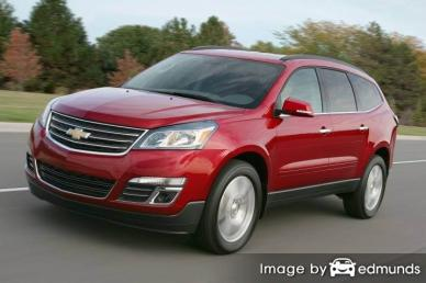 Insurance quote for Chevy Traverse in Plano