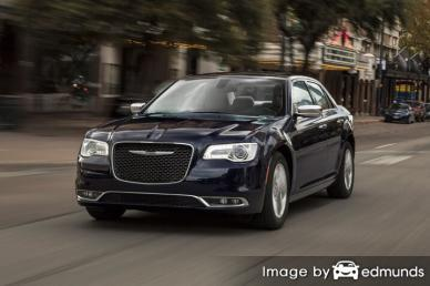 Insurance rates Chrysler 300 in Plano