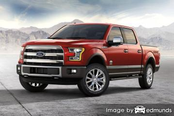 Insurance rates Ford F-150 in Plano