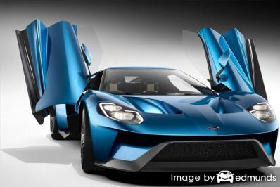 Insurance rates Ford GT in Plano