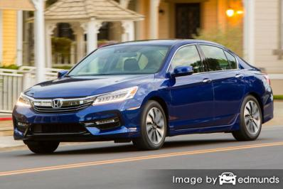 Insurance quote for Honda Accord Hybrid in Plano