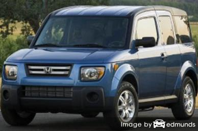 Insurance quote for Honda Element in Plano