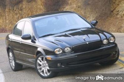 Insurance rates Jaguar X-Type in Plano