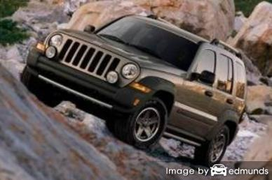 Insurance quote for Jeep Liberty in Plano