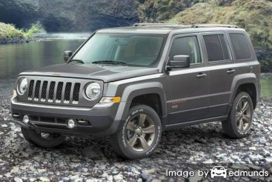 Insurance quote for Jeep Patriot in Plano
