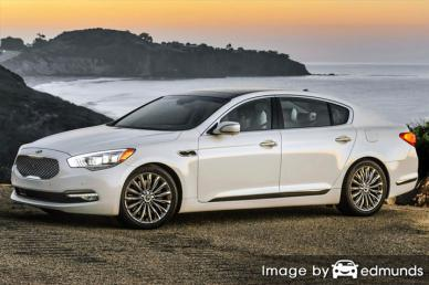 Insurance quote for Kia K900 in Plano