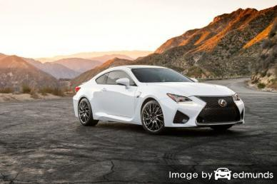 Insurance quote for Lexus RC F in Plano