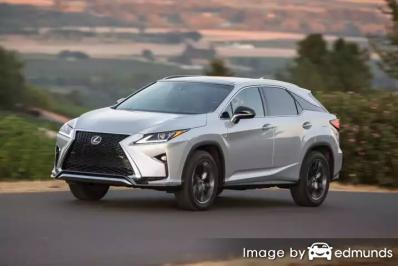 Insurance rates Lexus RX 350 in Plano