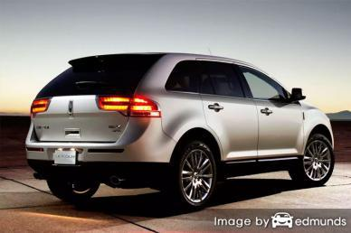 Insurance quote for Lincoln MKX in Plano
