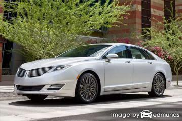 Insurance quote for Lincoln MKZ in Plano