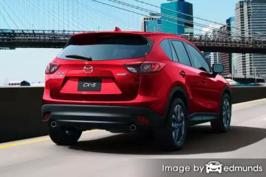 Insurance rates Mazda CX-5 in Plano