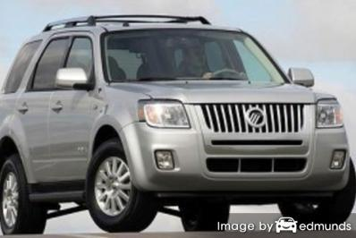 Insurance rates Mercury Mariner in Plano