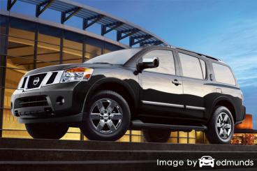 Insurance rates Nissan Armada in Plano