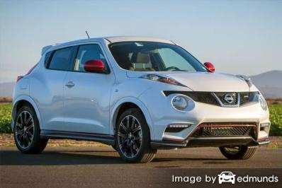 Insurance quote for Nissan Juke in Plano