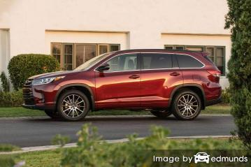 Insurance quote for Toyota Highlander in Plano