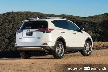 Insurance quote for Toyota Rav4 in Plano