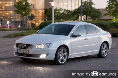 Insurance rates Volvo S80 in Plano