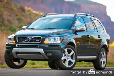 Insurance quote for Volvo XC90 in Plano